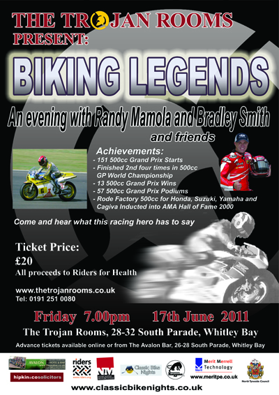 An Evening With Randy Mamola and Friends