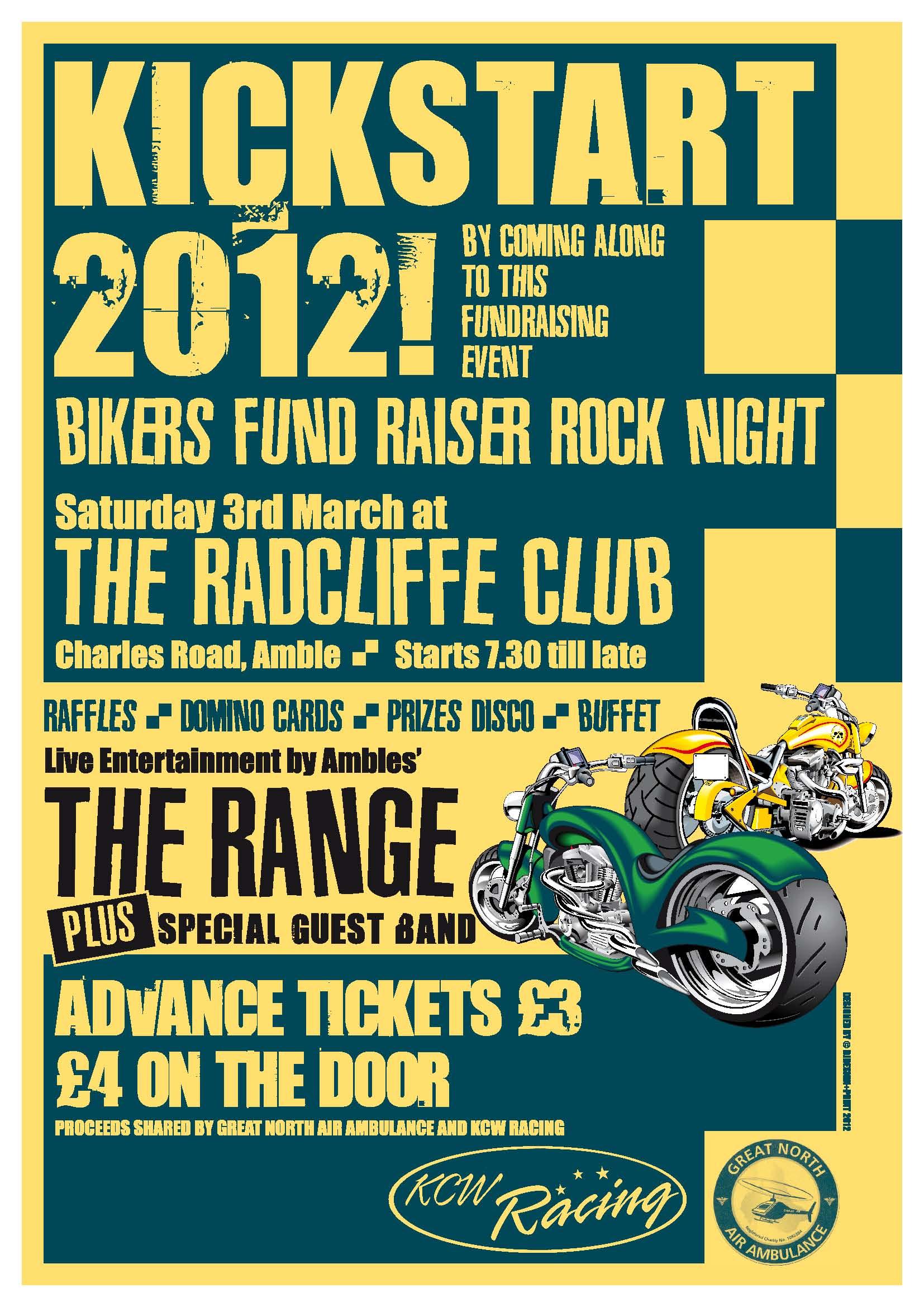 Biker Fundraising Rock Night