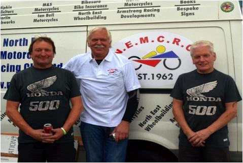Left to Right Colin Stockdale, Frank Lemstra, Dave Martin